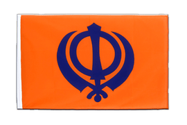 Sikhism - Sleeved Flag ECO 2x3 ft