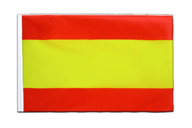 Spain without crest Sleeved Flag ECO - 2x3 ft