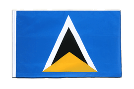 Saint Lucia - Sleeved Flag ECO 2x3 ft