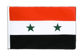 Syria - Sleeved Flag ECO 2x3 ft