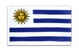Uruguay - Sleeved Flag ECO 2x3 ft
