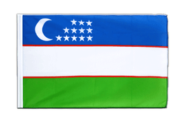 Uzbekistan Sleeved Flag ECO - 2x3 ft