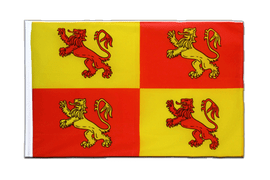 Wales Royal Owain Glyndwr - Sleeved Flag ECO 2x3 ft