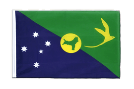 Christmas Island - Sleeved Flag ECO 2x3 ft