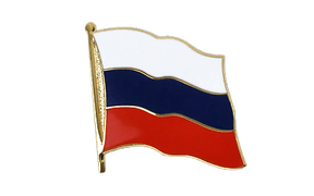 Flaggen Pin XXL Russland - 25 mm