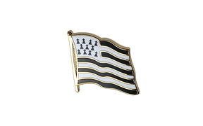 Brittany - Flag Lapel Pin