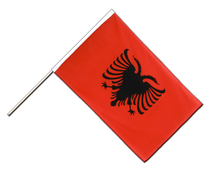 Albania - Hand Waving Flag ECO 2x3 ft