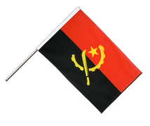 Angola - Hand Waving Flag ECO 2x3 ft