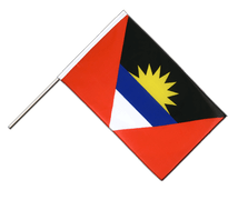 Antigua and Barbuda - Hand Waving Flag ECO 2x3 ft