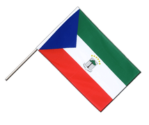 Equatorial Guinea - Hand Waving Flag ECO 2x3 ft