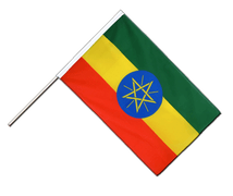 Ethiopia with star - Hand Waving Flag ECO 2x3 ft