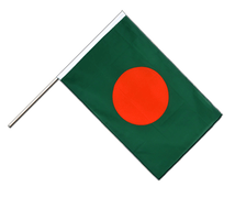 Bangladesh - Hand Waving Flag ECO 2x3 ft