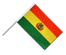 Bolivia - Hand Waving Flag ECO 2x3 ft