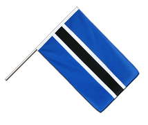 Botswana - Hand Waving Flag ECO 2x3 ft