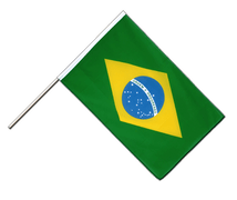 Brazil - Hand Waving Flag ECO 2x3 ft