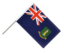 British Virgin Islands - Hand Waving Flag ECO 2x3 ft