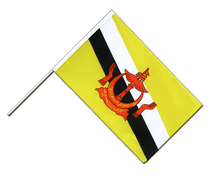 Brunei - Hand Waving Flag ECO 2x3 ft
