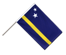 Curacao - Hand Waving Flag ECO 2x3 ft