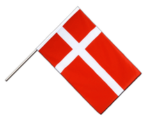 Denmark - Hand Waving Flag ECO 2x3 ft
