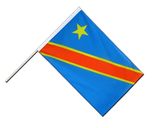 Democratic Republic of the Congo Hand Waver Flag ECO - 2x3 ft