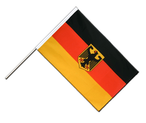 Germany Dienstflagge - Hand Waving Flag ECO 2x3 ft