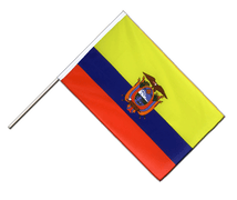 Ecuador - Hand Waving Flag ECO 2x3 ft