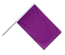 Purple - Hand Waving Flag ECO 2x3 ft