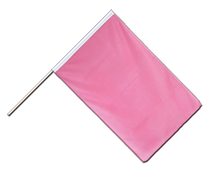Drapeau Rose Hampe ECO - 60 x 90 cm