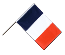 France - Hand Waving Flag ECO 2x3 ft