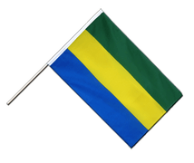 Gabon - Hand Waving Flag ECO 2x3 ft