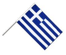 Greece Hand Waver Flag ECO - 2x3 ft