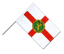 Alderney - Hand Waving Flag ECO 2x3 ft