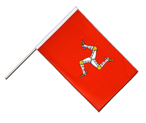 Isle of man - Hand Waving Flag ECO 2x3 ft