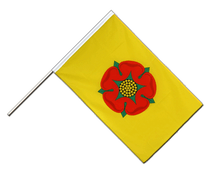 Lancashire new - Hand Waving Flag ECO 2x3 ft