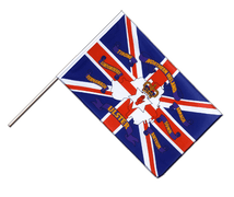 United Kingdom Northern Ireland 6 provinces - Hand Waving Flag ECO 2x3 ft