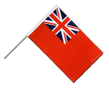 Red Ensign - Hand Waving Flag ECO 2x3 ft