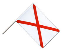 St. Patrick cross - Hand Waving Flag ECO 2x3 ft