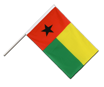 Guinea-Bissau - Hand Waving Flag ECO 2x3 ft