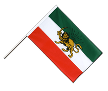 Iran Shahzeit - Hand Waving Flag ECO 2x3 ft