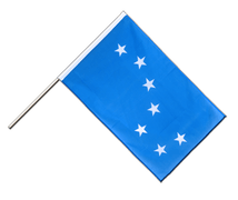 Drapeau Starry Plough Hampe ECO - 60 x 90 cm
