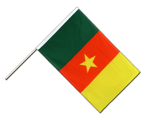 Cameroon - Hand Waving Flag ECO 2x3 ft
