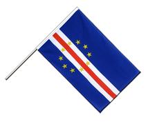 Cape Verde - Hand Waving Flag ECO 2x3 ft