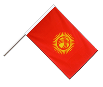 Kyrgyzstan - Hand Waving Flag ECO 2x3 ft