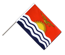 Kiribati Hand Waver Flag ECO - 2x3 ft
