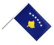 Kosovo - Hand Waving Flag ECO 2x3 ft