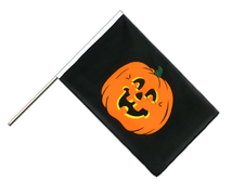 Pumpkin Hand Waver Flag ECO - 2x3 ft