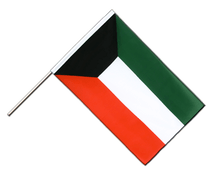 Kuwait - Hand Waving Flag ECO 2x3 ft