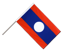 Laos - Hand Waving Flag ECO 2x3 ft