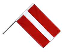 Latvia - Hand Waving Flag ECO 2x3 ft