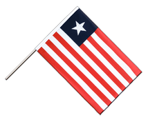 Liberia Hand Waver Flag ECO - 2x3 ft